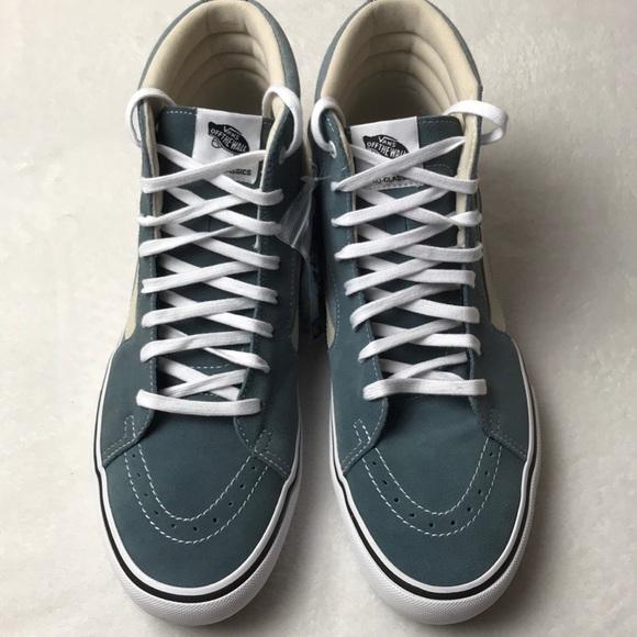 f8fa1f676a2157 Vans SK8-Hi Pro Goblin Blue white men shoe size 13